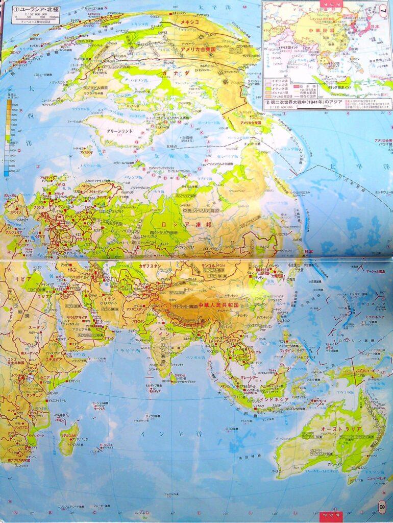 地図 北極圏