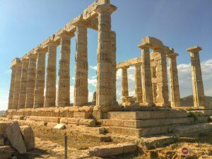 古代ギリシアの遺跡