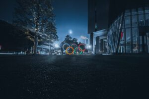 夜の五輪(東京)