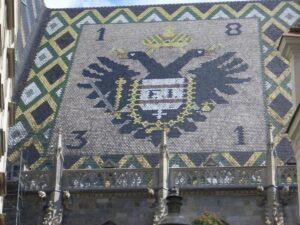 シュテファン大聖堂屋根・双頭の鷲